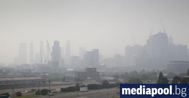 Въздухът във втория по големина австралийски град Мелбърн, както и