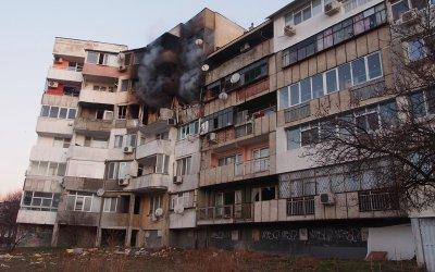 Блокът във Варна, в който избухна взрив, е със сериозни повреди