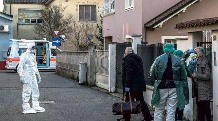 Броят на заразените с коронавируса в Северна Италия стабилно расте