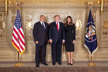 Мелания Тръмп благодари на Борисов за красивите подаръци