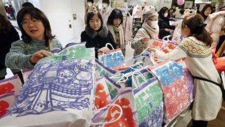 Японската икономика се сви с 6,3 на сто след повишаване на данък върху потреблението