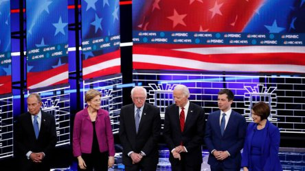 Блумбърг отнесе яростни атаки на дебатите в Лас Вегас