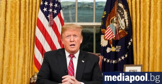 Американският президент Доналд Тръмп ще представи в понеделник предложението си