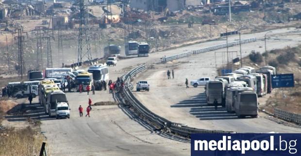 Подкрепяни от Турция сирийски бунтовници днес си върнаха контрола върху