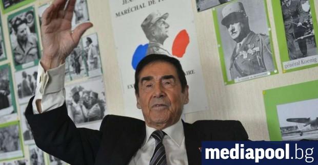 Най-старият кмет във Франция, 97-годишният Марсел Бертом, планира да се