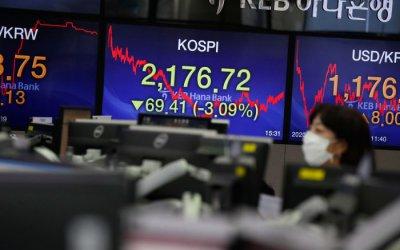 Финансовите стимули не спират пада на борсите