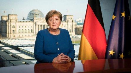 Меркел: Коронавирусът е най-голямото предизвикателство за Германия от Втората световна война насам
