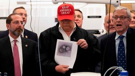 Тръмп: Спокойно, коронавирусът ще отмине
