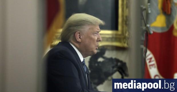 Президентът на САЩ Доналд Тръмп предприе нова агресивна стъпка за