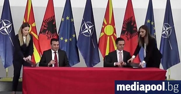 СДСМ на Зоран Заев и албанската партия Беса на Билал