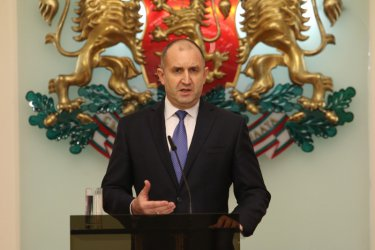 President Roumen Radev (archive photo)