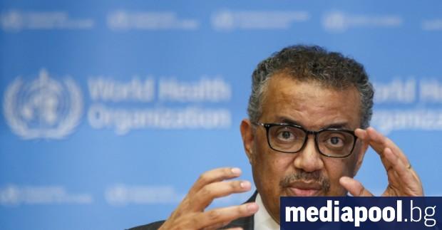 Ръководителят на Световната здравна организация Тедрос Гебрейесус отхвърли нападките на