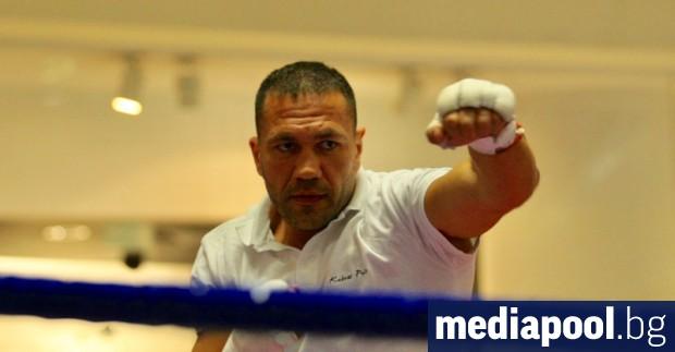 Мачът за световната титла по бокс в тежка категория между