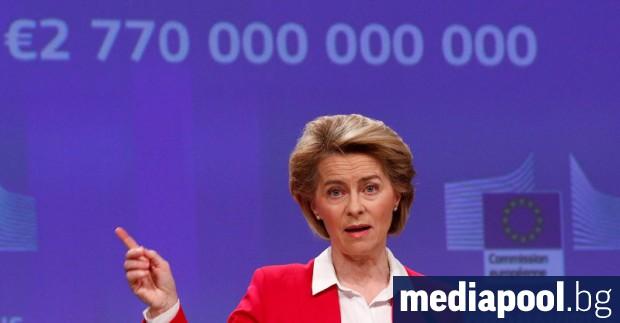 ЕС отговаря на епидемията с мерки за 2,77 трилиона евро.