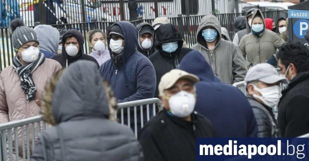 САЩ регистрираха пореден черен рекорд – 1169 жертви от коронавируса