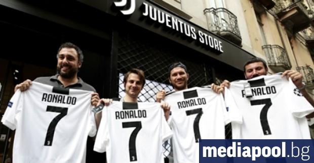 Нападателят на Ювентус Кристиано Роналдо се е съгласил да намали