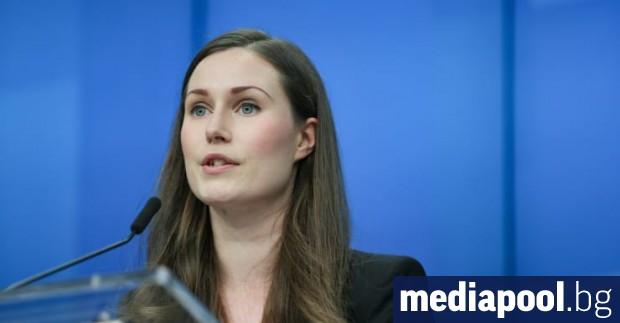 Финландската премиерка Сана Марин обяви снощи, че столицата Хелзинки и