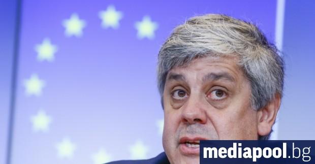 Председателят на Еврогрупата Мариу Сентену предупреди европейските министри на финансите