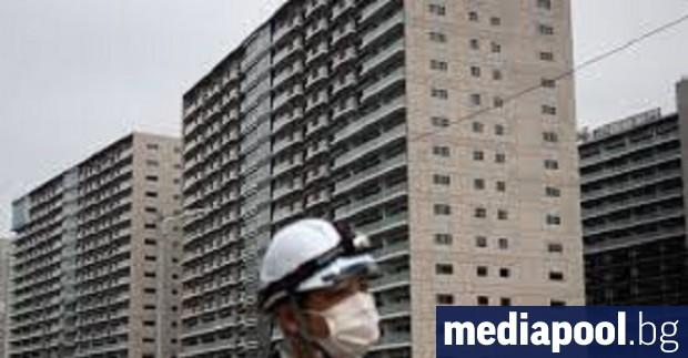 Все още строящото се олимпийско село в Токио може да