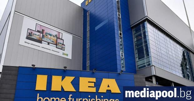 Най-голямата компания за мебели в света ИКЕА обяви, че е