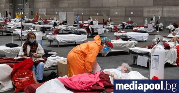 Все повече европейски болници изнемогнат под натиска на десетки хиляди