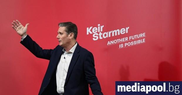 Новият лидер на главната опозиционна партия във Великобритания се надява