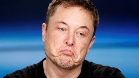 """Туит на Мъск изтри 14 млрд долара от стойността на """"Тесла"""""""