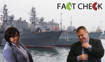 Вярно или не? Корнелия Нинова vs. Каракачанов за военните сделки