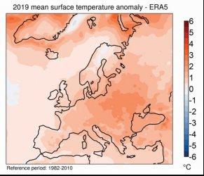 Европа се затопля много по-бързо от средното за планетата