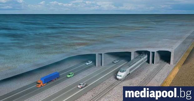 Дания обяви днес, че строителните работи по най-дългия железопътен и