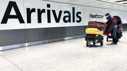 Великобритания ще налага 14-дневна карантина на пристигащите от чужбина