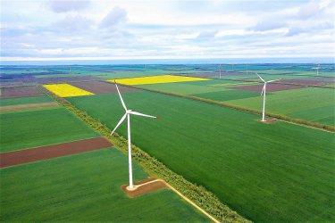 Близо 2.6 млн. т въглеродни емисии е спестил вятърният парк на AES край Каварна