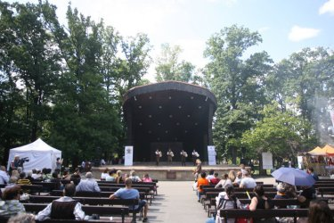 Open air stage at Borissova Gradina Park in Sofia (archive)
