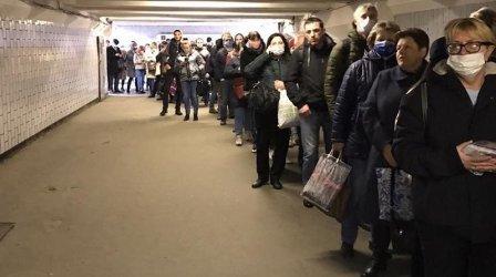 Москва регистрира най-ниския ръст на заразените с коронавируса за денонощие от 23 април