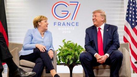 Меркел отказа покана на Тръмп да отиде във Вашингтон за среща на върха на Г-7
