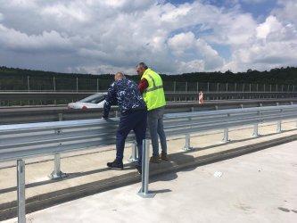 """Борисов обеща ремонтът на виадукта на 20 км. на """"Тракия"""" да приключи до края на юни"""