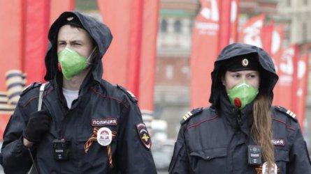За първи път броят на активните случаи на коронавируса в Русия е намалял