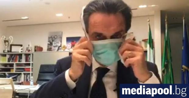 Управителят на италианската област Ломбардия заяви, че му е предоставена