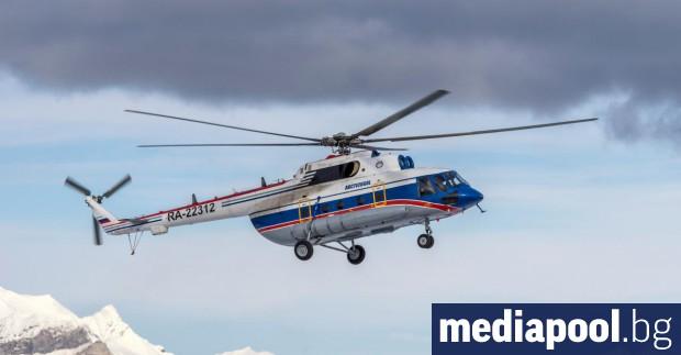 Хеликоптер Ми-8 на руските въоръжени сили се разби вчера при