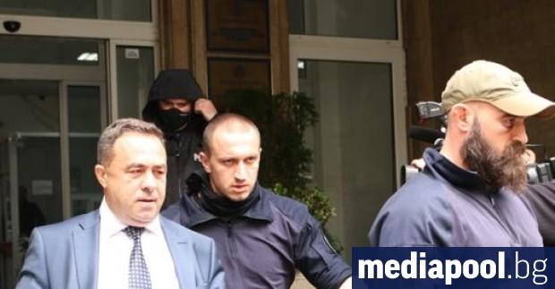 Зам.-министърът на екологията Красимир Живков, който бе арестуван при акция
