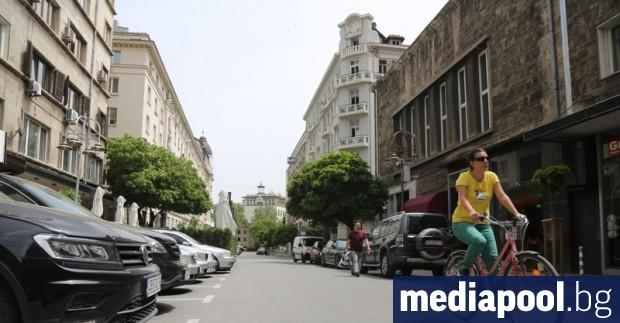 Една от централните улици на София, за която от години