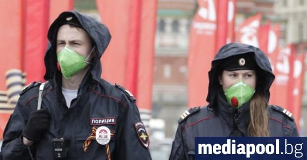 Русия съобщи днес за 9263 новозаразени с коронавируса за последните