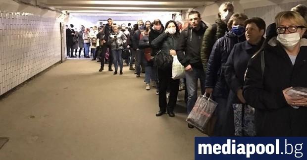 Броят на заразените с коронавируса в Москва нарасна от вчера