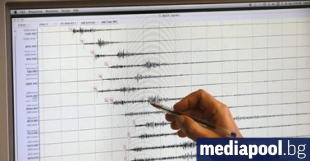 Земетресение с магнитуд 3.4 е регистрирано в района на Смолян