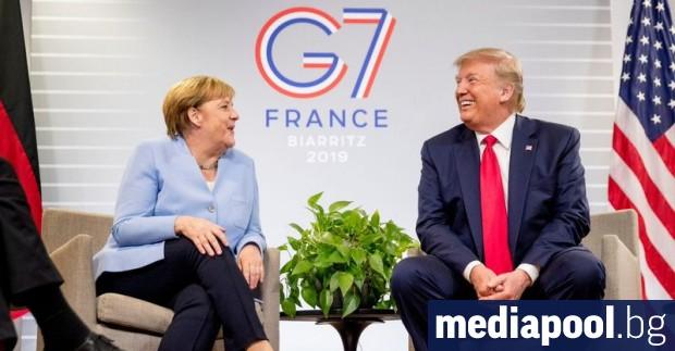 Германската канцлерка Ангела Меркел отказва да отиде лично на годишната