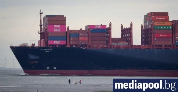 Освободен е българският капитан на контейнеровоза