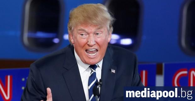Президентът на САЩ Доналд Тръмп обяви, че САЩ прекъсват отношенията