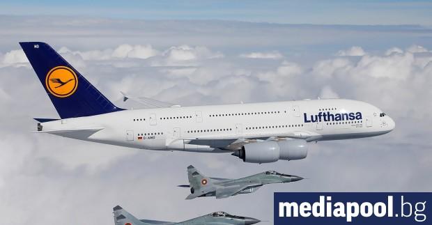 Преговарящите от германското правителство и авиокомпания