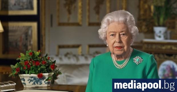 Британската кралица Елизабет II почете вчера загиналите във Втората световна
