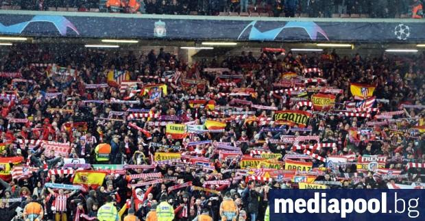 Мачът от Шампионската лига между